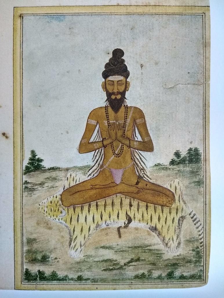 yogi médite