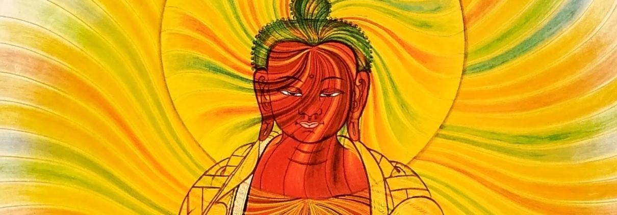 bouddha attentif